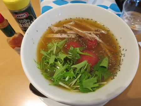 製麺工房・ジェラート工房 WITHドリーム 冷やし とまとラーメン(10杯限定)¥880