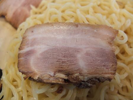 らぁめん古丹 つけ麺(冷もり、特盛)ちゃーしゅうトッピング ちゃーしゅうアップ(追加トッピング)