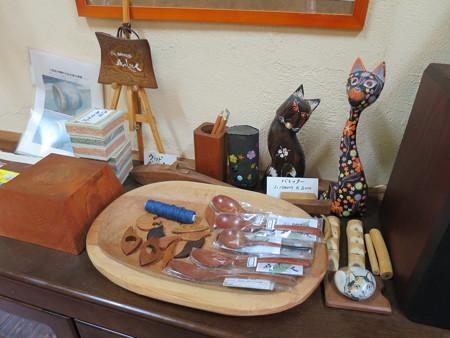 森のレストラン フォレスタ 木工工芸品売り場