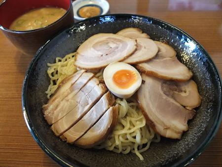 らぁめん てるちゃん つけ麺 魚粉&チャーシュー増 アップ
