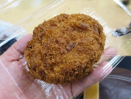 新潟伊勢丹 秋の大北海道展2016 マルヒロ太田食品 ジャンボタラバガニコロッケ¥540