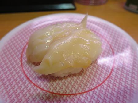 かっぱ寿司 上越店 つぶ貝¥97(期間限定平日価格)