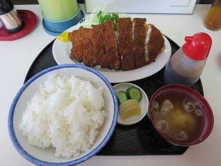 橋場食堂 とんかつ定食¥900