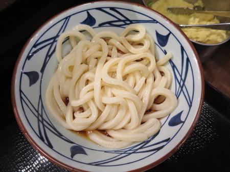 丸亀製麺 上越店 ぶっかけうどん並冷¥290