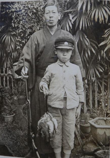 爺さんと親父の若き在りし日
