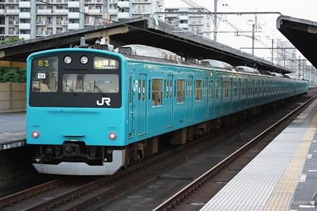 2010.07.10(SAT) JR京葉線 成東・勝浦行き快速[検見川浜]