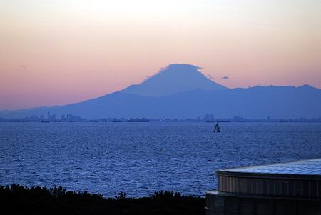 2010/12/31 大みそか 東京湾の夕日@千葉市美浜区