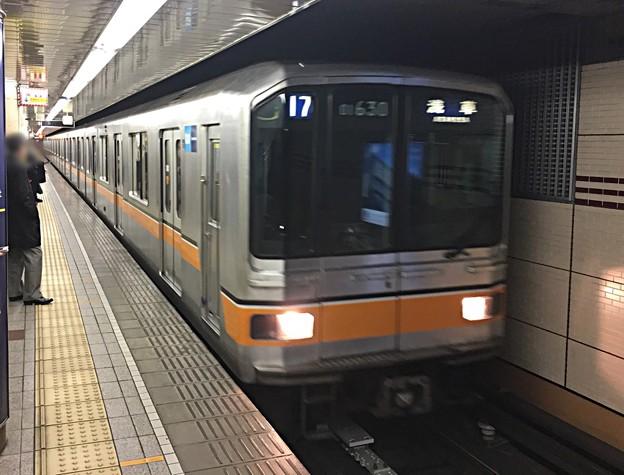 営団01系 01-130F 定期運用終了前日