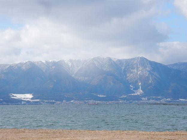 湖西の雪山