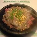 Photos: ちょっと遅めのお昼ご飯。鉄板じゅ~o( ̄ ^  ̄ o)