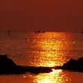 夕景 夏の日本海