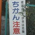Photos: わざわざ寂しい場所