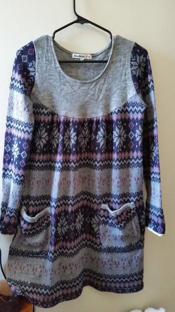 One-piece dress size M-L [$8]