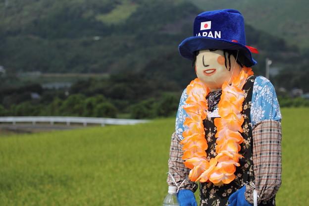 津奈木町かかし祭り・・日本代表かかし