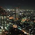 写真: 東京の夜