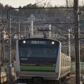 横浜線夕景