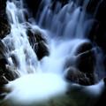 Photos: Silky flow in the dark