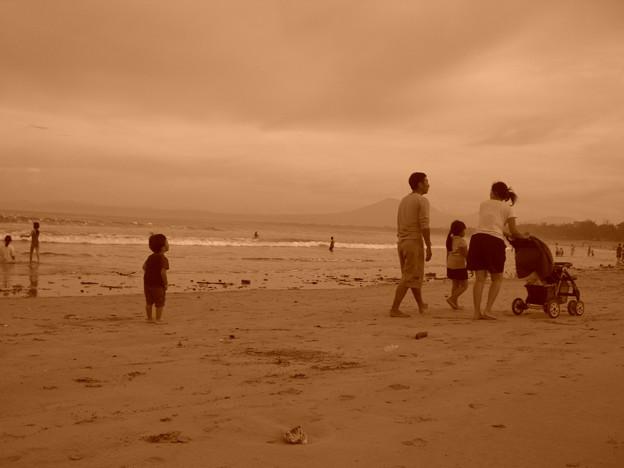 インドネシア バリ島 クタビーチ