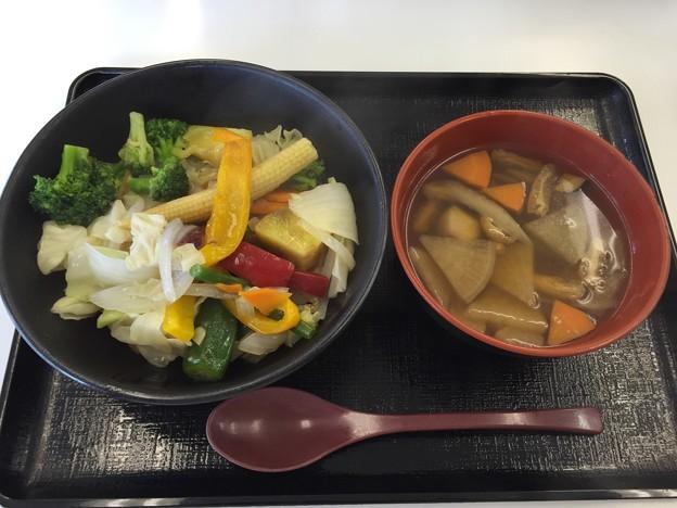 写真: 20160908昼食