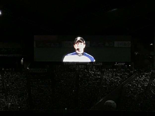 写真: 武田勝引退セレモニー