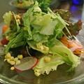 リバースカフェのサラダ