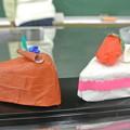 放課後子供教室のケーキの工作