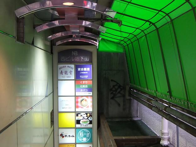 ビル地下への入り口(MPO)