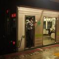 都営新宿線菊川駅1番線 都営10-270F各停橋本行き