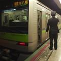 都営新宿線新宿三丁目駅2番線 都営10-330F各停本八幡行き側面よし