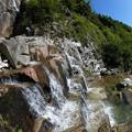 Photos: 大滝直下の石段 8.12 8:41