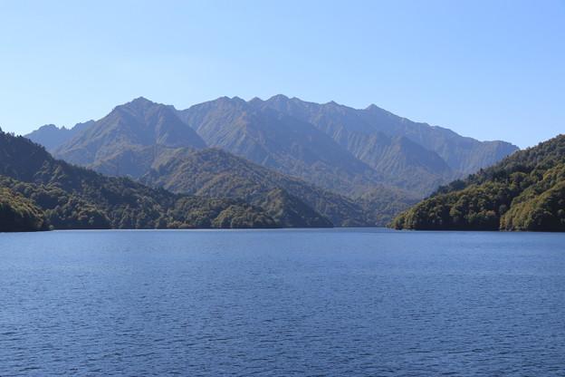 Photos: 奥只見湖から荒沢岳を望む