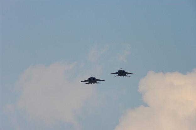 Photos: F-15・フォーメーションアプローチ(1)
