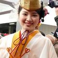 写真: 今宮戎神社の福娘さん2
