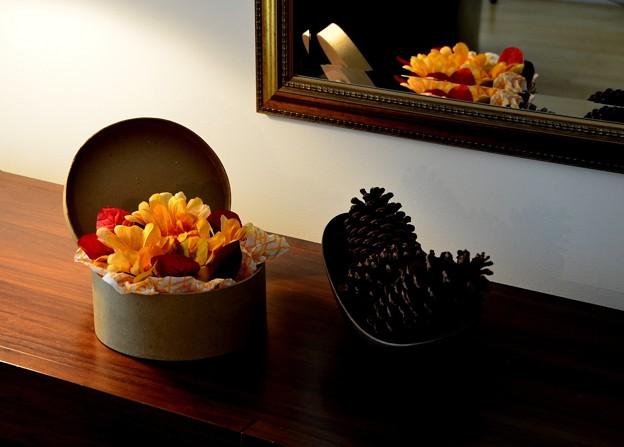「第113回モノコン」秋色を飾る