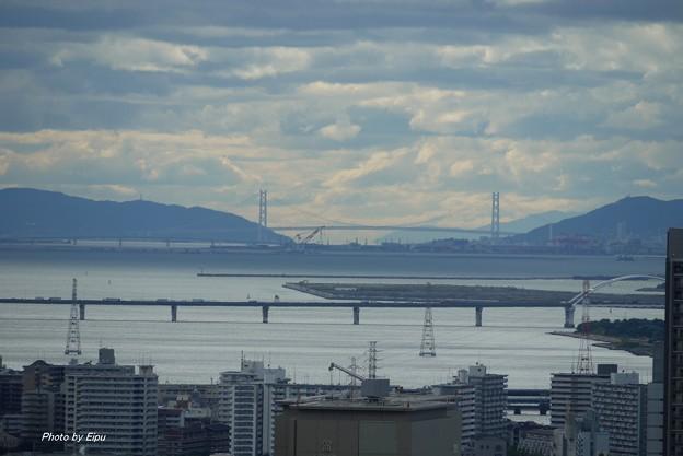 都心から海峡大橋