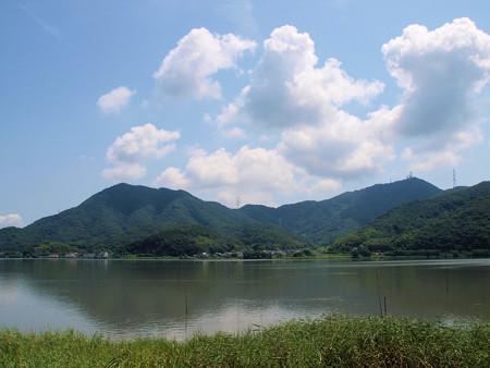 児島湖夏景色
