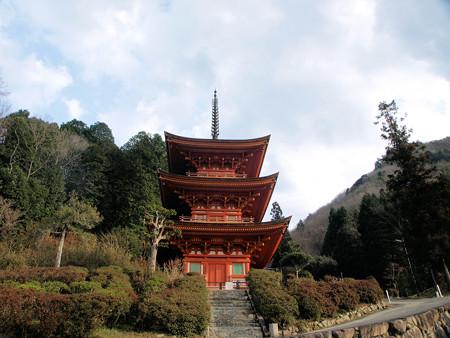 改修前の美作長福寺
