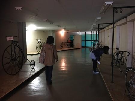 不思議な自転車も展示るよん