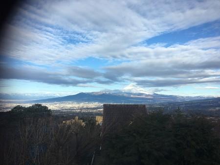 嵐が去った後の富士山viva!