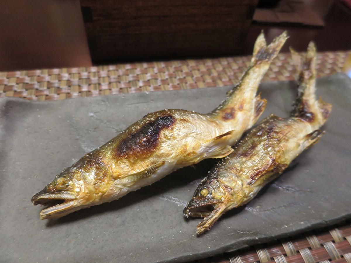 鮎塩焼き2