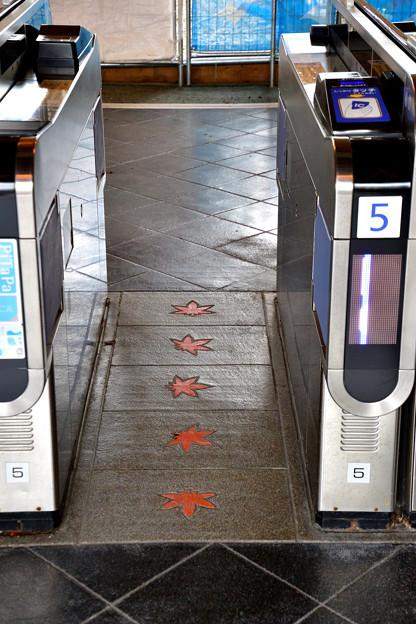 2016_1009_131243 嵐山駅の改札