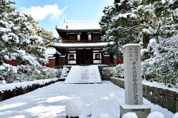 2017_0115_093755 建仁寺開山堂雪化粧