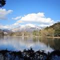 Photos: 三島池から臨む伊吹山