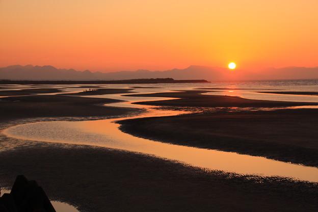 ☆落日の真玉海岸