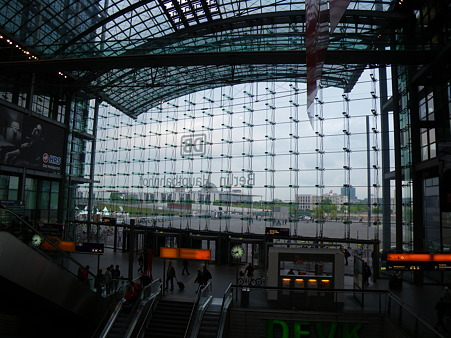ベルリン中央駅