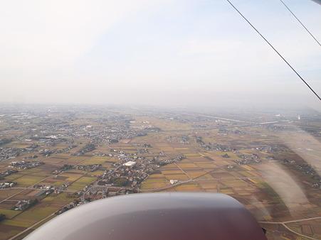 秋色の関東平野