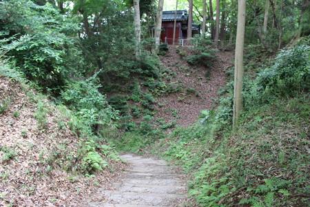 韮山城遺構