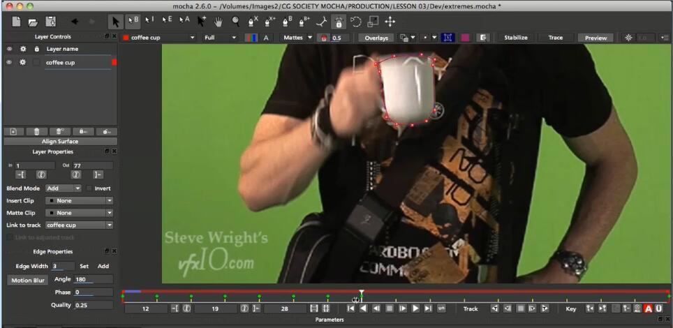 mocha 3D跟踪高级教程(Lynda.com mocha Essential Training)