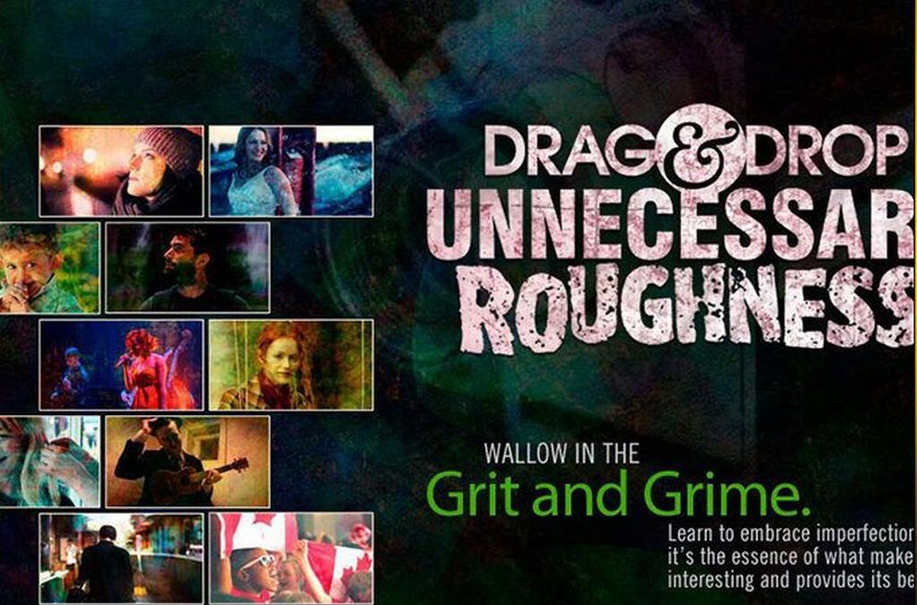 51组风格化的粗糙杂乱视频素材包(Drag & Drop 4 Unnecessary Roughness)