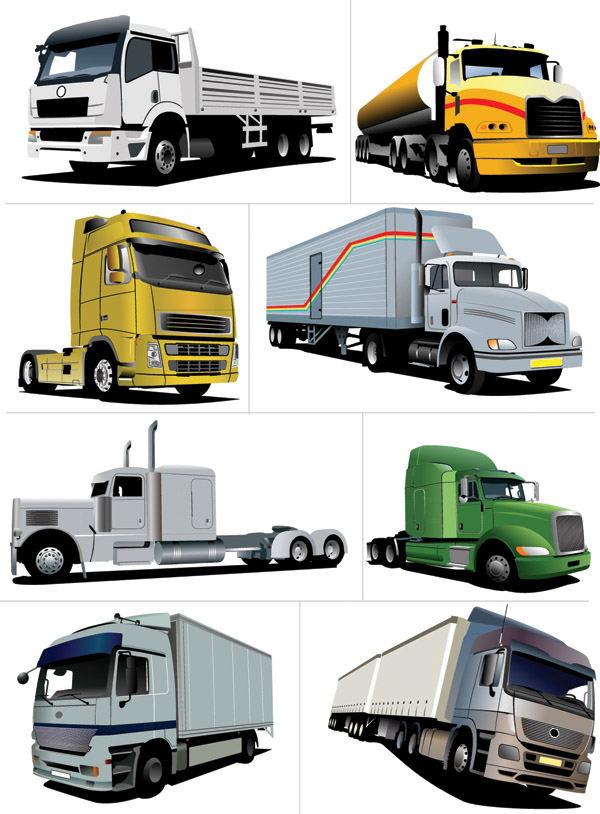 交通工具矢量素材
